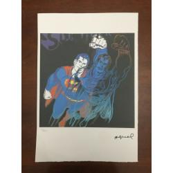 Dettagli su  Andy Warhol Litografia 57 x 38 Arches Timbro Secco Israel Castelli AN362