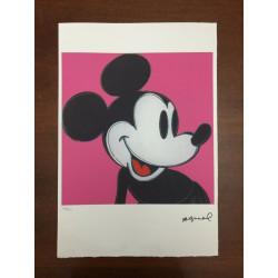 Dettagli su  Andy Warhol Litografia 57 x 38 Arches Timbro Secco Israel Castelli AN273