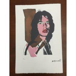 Dettagli su  Andy Warhol Litografia 57 x 38 Arches Timbro Secco Israel Castelli AN447