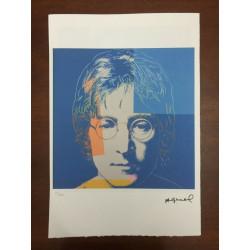 Dettagli su  Andy Warhol Litografia 57 x 38 Arches Timbro Secco Israel Castelli AN375