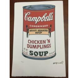 Dettagli su  Andy Warhol Litografia 57 x 38 Arches Timbro Secco Israel Castelli AN162