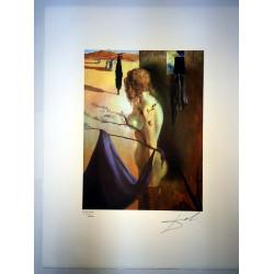 Dettagli su  Salvador Dali cm 50x65 carta BFK RIVES firmato a matita edizione Joplin France