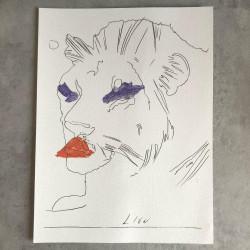 """Dettagli su  Andy Warhol - """"Il Leone"""" - BOLAFFI ARTE n° 49 1975 - Non Firmata"""