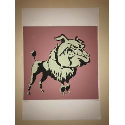 Dettagli su  Banksy - Litografia - 50x35 - Firma a Matita Timbro Artista