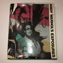 Dettagli su  Andy Warhol - Libro Andy Warhol's Exposures - Firmato e Certificato