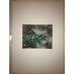Dettagli su  Roberto Sebastian Matta - Litografia - 50x70 - Numerazione Romana