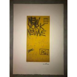 Dettagli su  Jean-Michel Basquiat - Litografia - Untitled - 1980 - 250 ex. - 50x70
