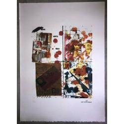 Dettagli su  Jean-Michel Basquiat - Litografia - Untitled - 1979 - 250 ex. - 50x70