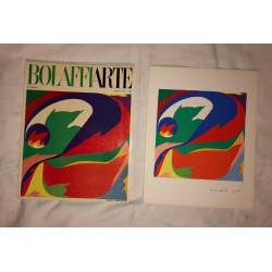 Dettagli su  Piero Dorazio Bolaffi Arte Rivista e Riproduzione Litografia n.2