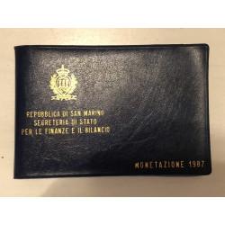 Dettagli su  REPUBBLICA DI SAN MARINO - MONETE  1987 FDC