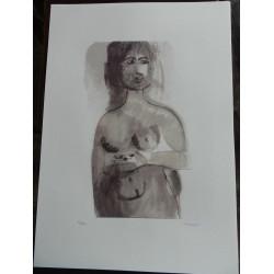 Dettagli su  Bruno Cassinari  Litografia 1912/1992 cm 50x70
