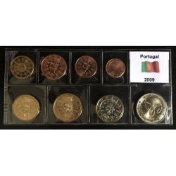 Dettagli su  2009 PORTOGALLO 8 monete euro FDC portugal