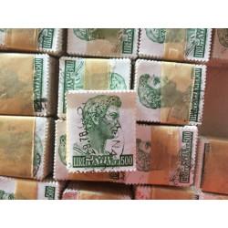 Dettagli su  Francobollo A0015 Italia San Giorgio 500 lire 1957 1 mazzetta 100