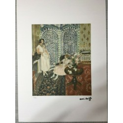Dettagli su  Henri Matisse Litografia cm 50x70 con fotoautentica edizione 1995